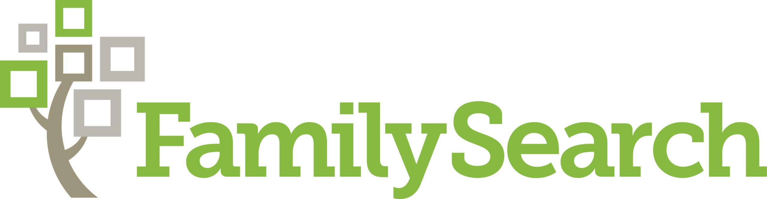 Genealogica FamilySearch | Logo: FamilySearch